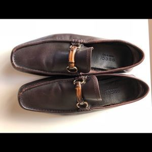 Men's Gucci bamboo loafers